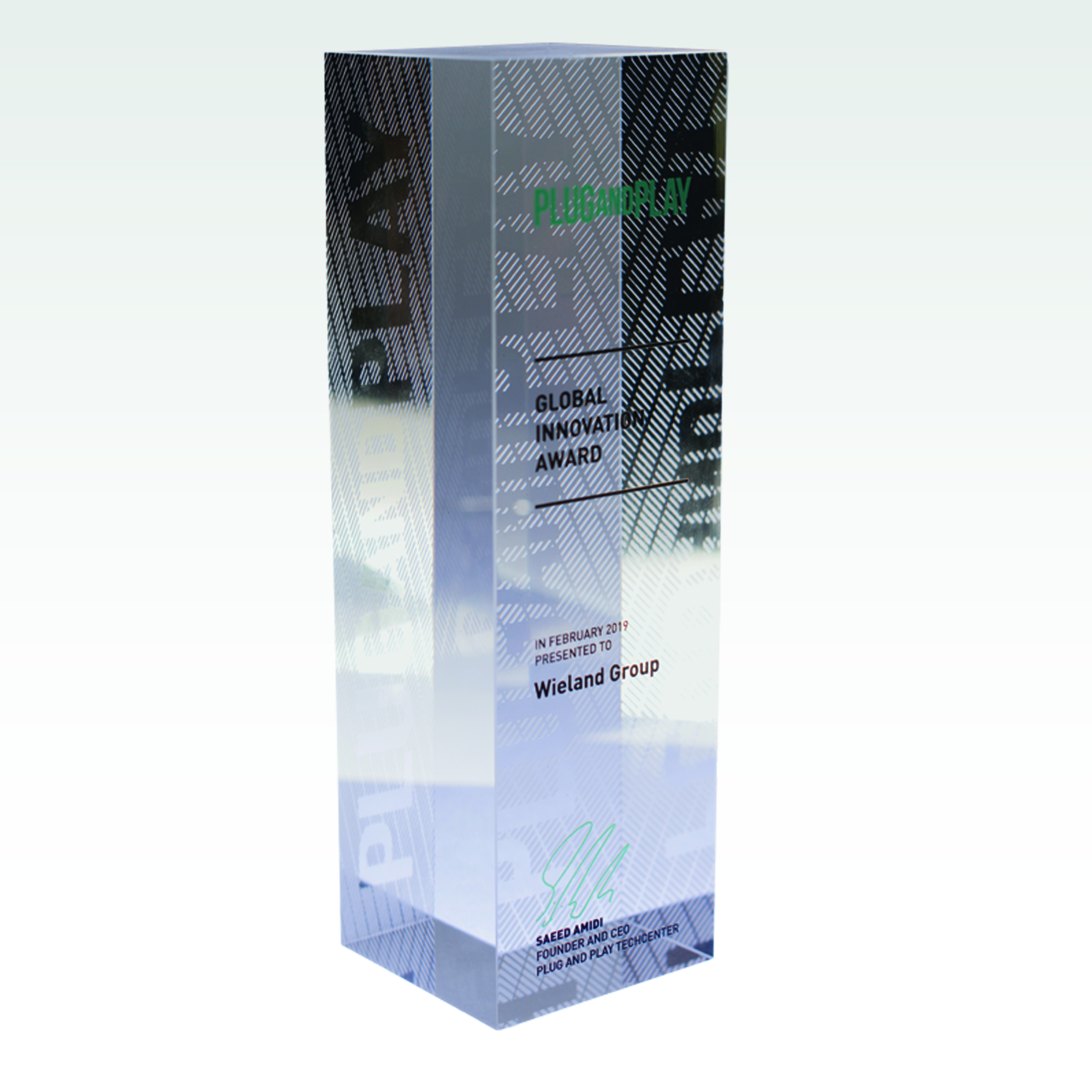 Global <br> Innovation <br>Award